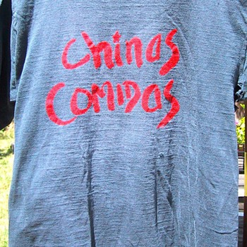 Chinas Comidas t-shirt, circa 1978 - Mens Clothing