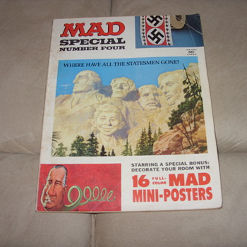 1971 mad magazine special number four