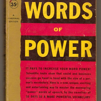 1955 - Words of Power - Books