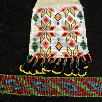 Beaded Native American Medicine Bag