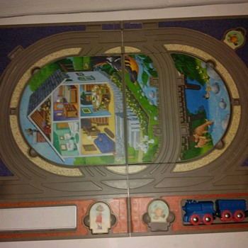Lionel Train American Legands Playstage Kid's Toy Game Train Set in a Carry Case