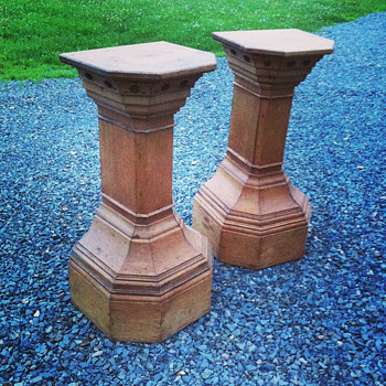 Antique Pedestals - Furniture
