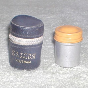 Vietnam War era film canister / case