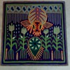 HUICHOL  INDIAN YARN PAINTING