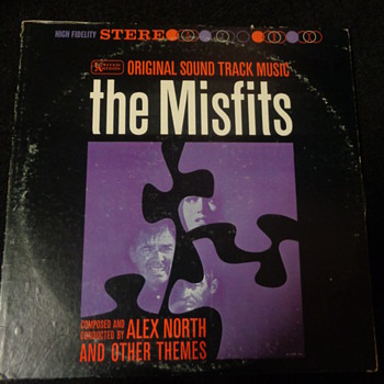 The Misfits 1961 soundtrack