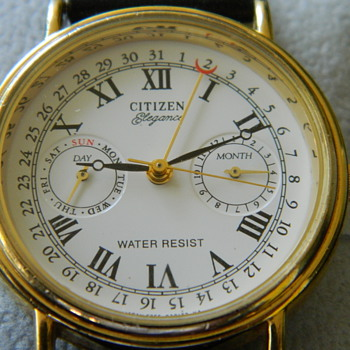 Citizen Elegance Perpetual Calendar Watch - Wristwatches