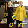 Dick Tracy And Breathless Madonna Figures