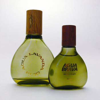 Bottle for AGUA LAVANDA PUIG (I)/AGUA BRAVA, Andr Ricard (1963/1968)