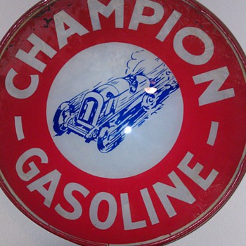 CHAMPION Gas Globe - Petroliana
