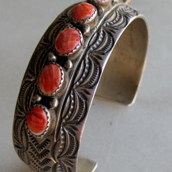 Navajo bracelet by Wilbert Benally
