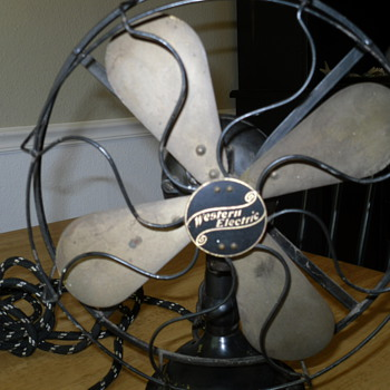 Western electric desk fan - Tools and Hardware