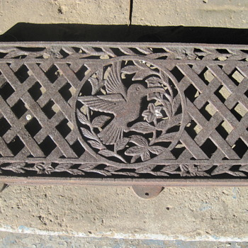 ornate humming bird grate - Tools and Hardware