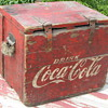 Wooden Coca-Cola Cooler