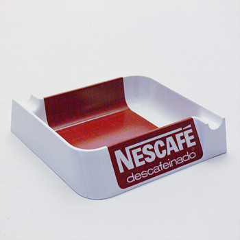 NESCAFÉ ashtray, André Ricard (1968) - Tobacciana