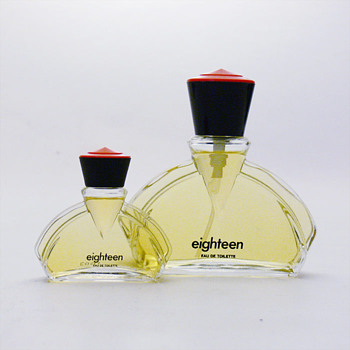 A couple of &quot;Hooray for the 80s&quot; perfume bottles by Andr Ricard. - Bottles