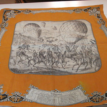 Franco-Prussian War 1870 textile balloons - Military and Wartime