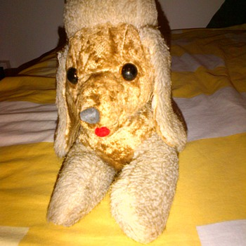My Poodle from the 1970s - Toys