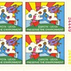 One last environment stamp - Peter Max 1974