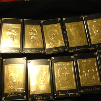 Gold Legend Baseball Cards