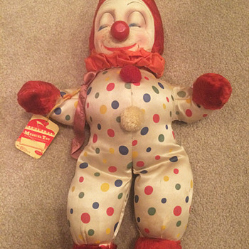 Vintage Clown Toy