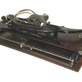 The Boston Typewriter