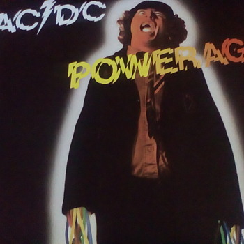 AC/DC Powerage - Records