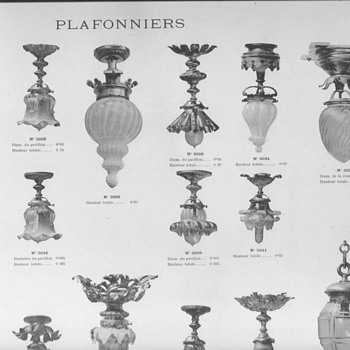 Catalogue ROYER et C. -Nancy - 1906  - Lamps