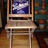 Early 1900&#039;s Piedmont Tobacco Folding Chair