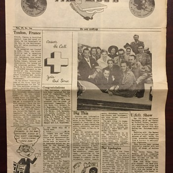 1954-USS  LAKE CHAMPLAIN MILITARY NEWSPAPER  (THE CHAMP)  VOL. IV