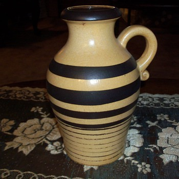 West German pottery I need a possible date - Art Pottery