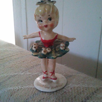 Little miss mistletoe  - Figurines