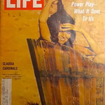 Life Magazine: Claudia Cardinale and De Gaulle's Power Play