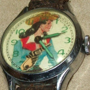Muros Annie Oakley Animated Watch - Wristwatches