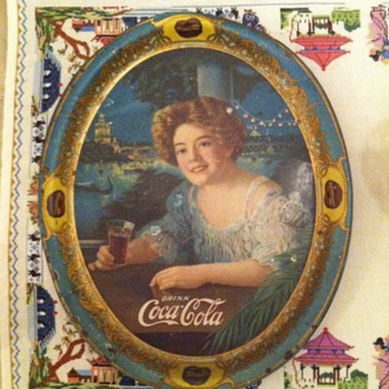 Vintage Coca Cola tray