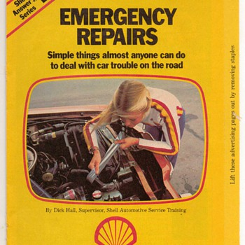 1978 - Shell Oil Emergency Repair Booklet - Classic Cars