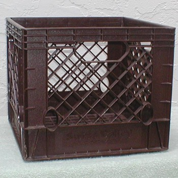 Swiss Valley Farms Milk Crate