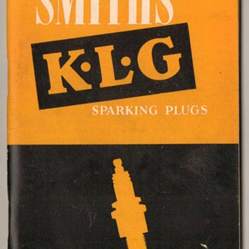 1954 Smiths KLG Sparking Plugs Booklets
