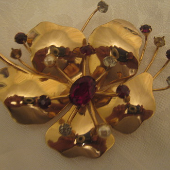 Coro Brooch/one of my favorites - Costume Jewelry
