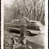 1959 - Family Photograph - Grandpa & his Plymouth