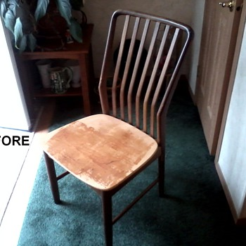 Sven Madsen Teak Side Chair Restored to it's Former Glory ! - Mid-Century Modern