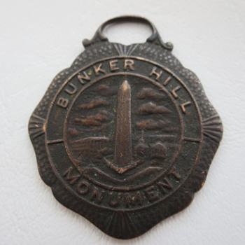 Bunker Hill Monument Watch Fob