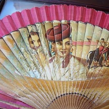 60s-70s Souvenir Fans