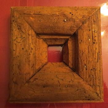 Wooden frame??