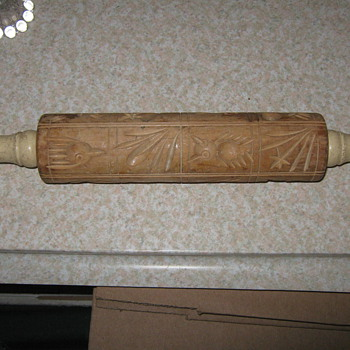Patterned Rolling Pin - Kitchen