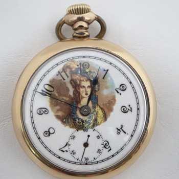 "Hamilton 936 ""Victorian Lady Dial"" - Pocket Watches"