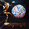Pixie Lamp with Millefiori Glass - DANSEUSE DES INDES by I. Gallo