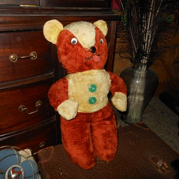 1940s Teddy Bear ........NEAT! - Dolls