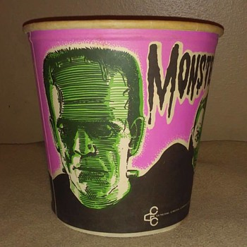 1960's Monster Popcorn Bucket