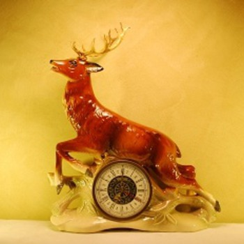 474 Jema Holland Stag Clock - Clocks