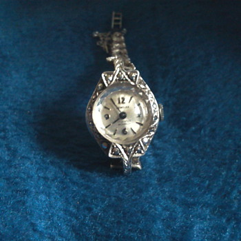 Mother,s marcasite watch  - Wristwatches